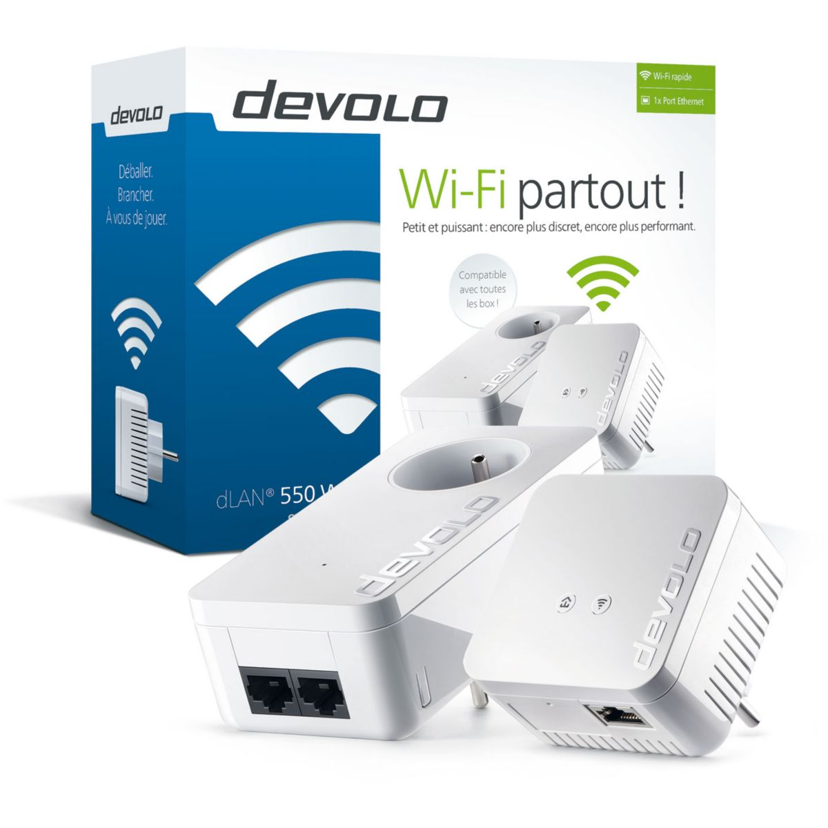 CPL Duo DEVOLO dLAN 550 WiFi