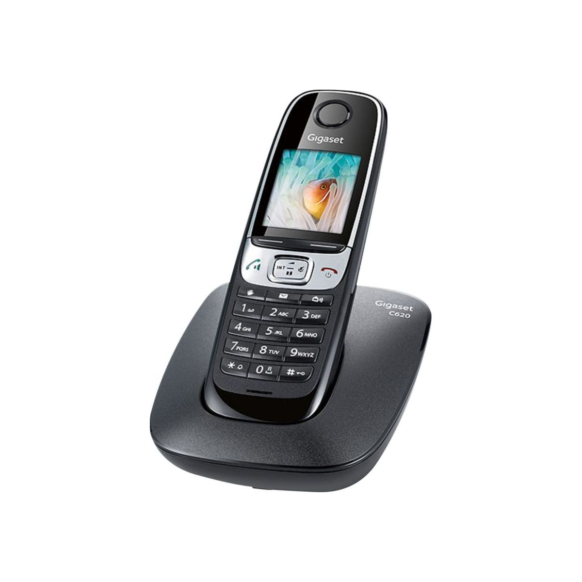 Téléphone sans fil GIGASET C620 Noir