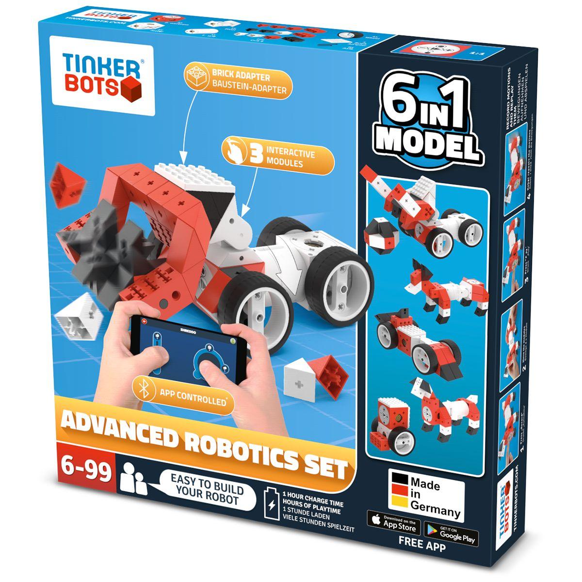 Robot programmable TINKERBOTS Robotics advanced set