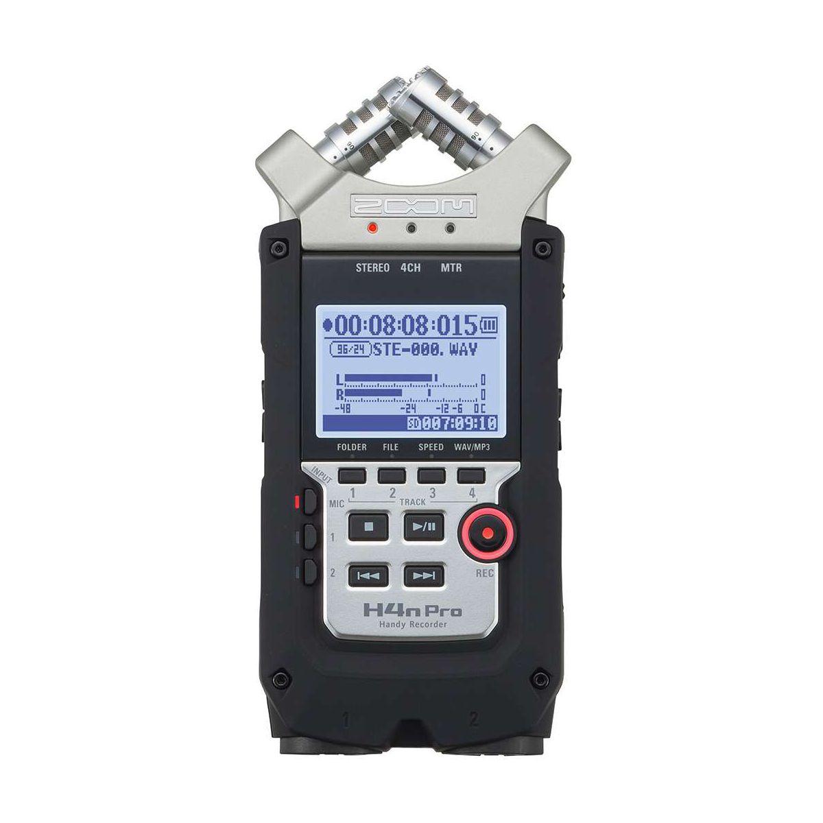 Dictaphone ZOOM H4NPRO 4 pistes portable
