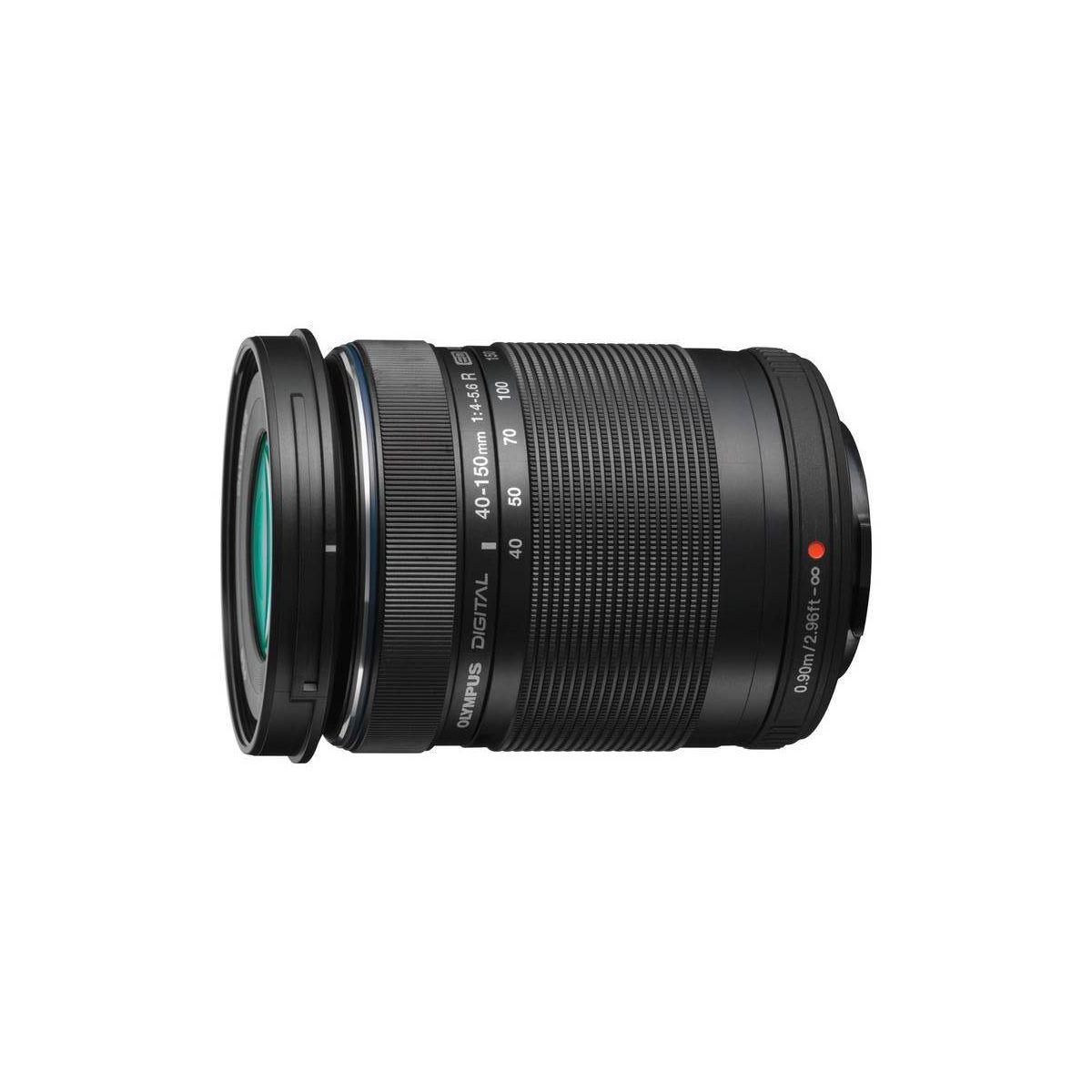 Objectif pour Hybride OLYMPUS 40-150mm R f/4.0-5.6 noir M.Zuik...