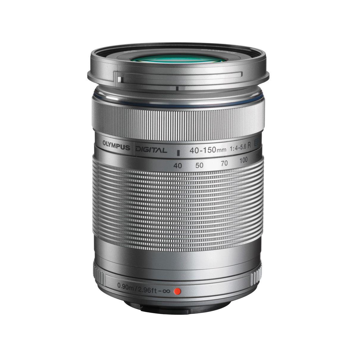 Objectif OLYMPUS Digital ED 40-150mm R f/4.0-5.6 silver M.Zuiko