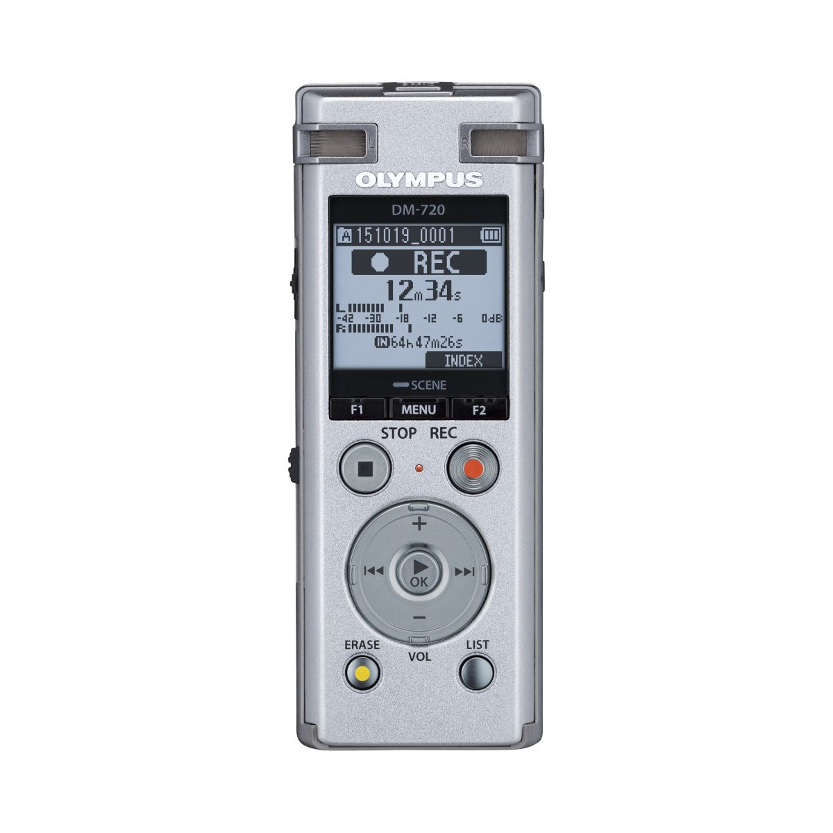 Dictaphone OLYMPUS DM-720 (photo)