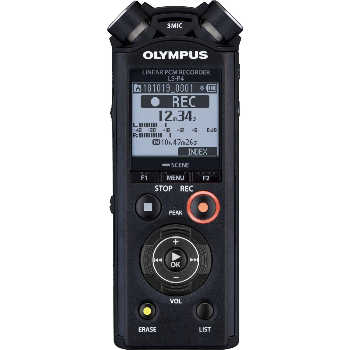 Dictaphone OLYMPUS LS-P4 (photo)