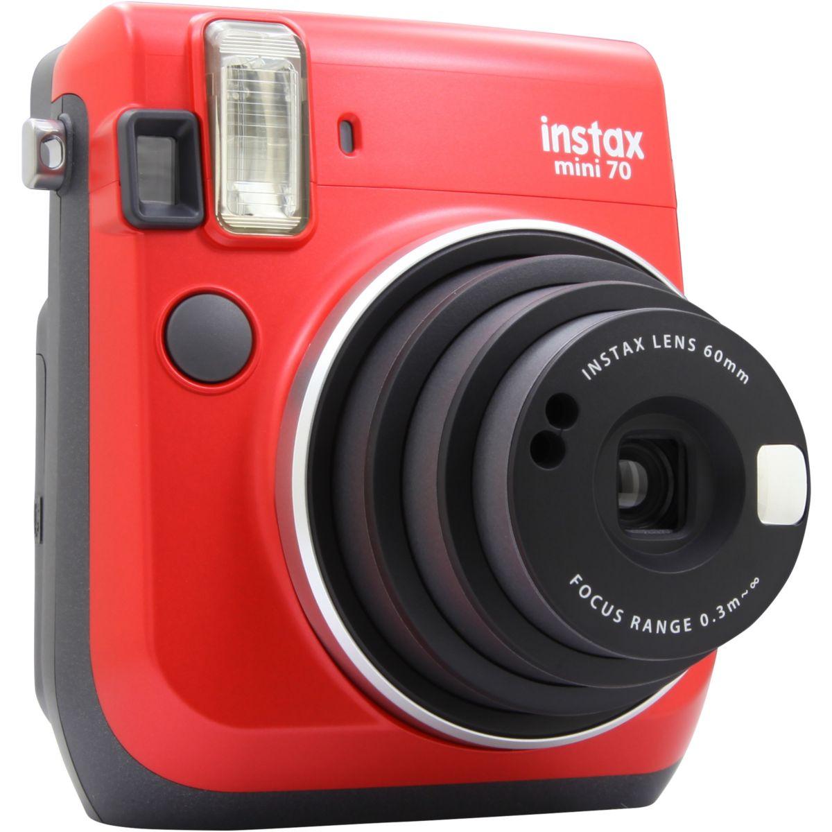 Appareil Photo Numérique FUJI Instax Mini 70 rouge