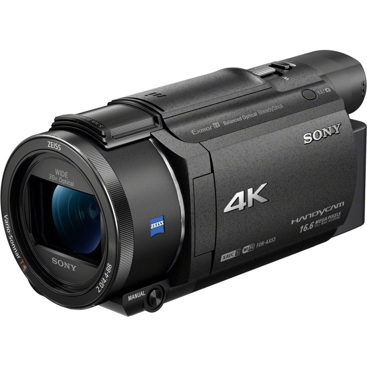 Camescope SONY FDR-AX53