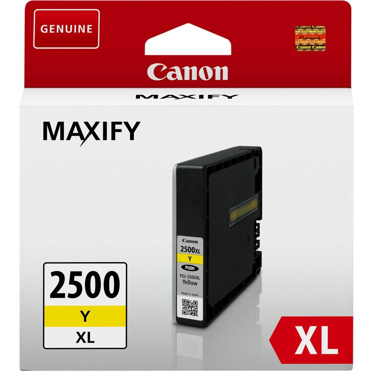 Cartouche d'encre CANON PGI 2500 XL Jaune