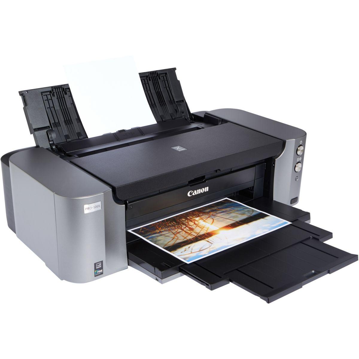 Imprimante multifonction jet d'encre CANON PIXMA PRO 100 S (photo)