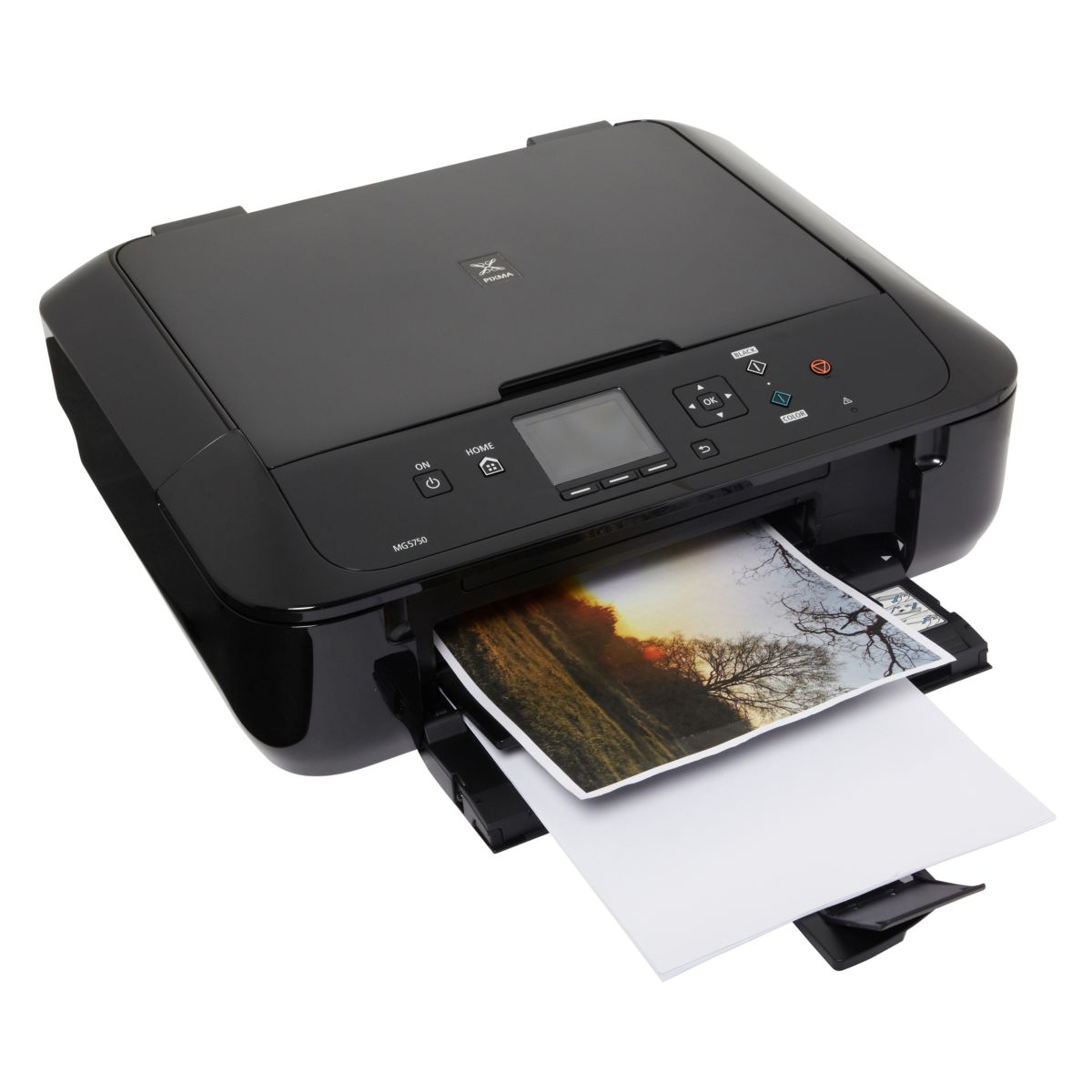 Imprimante jet d'encre CANON MG 5750 Noir (photo)