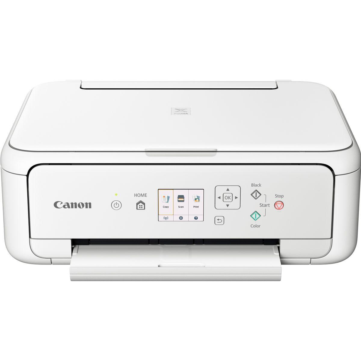 Imprimante jet d'encre CANON TS 5151 Blanc (photo)