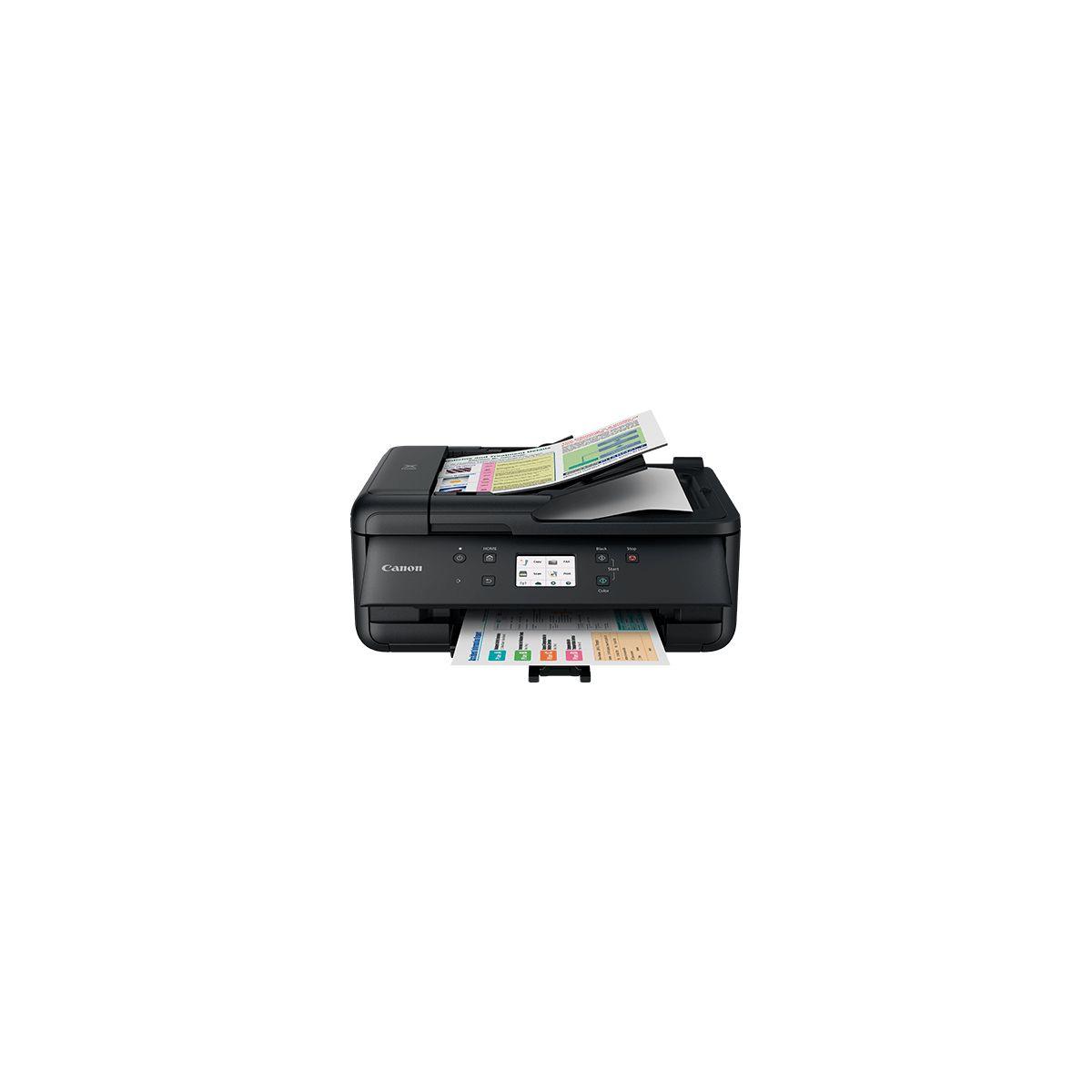 Imprimante jet d'encre CANON TR 7550 Noir (photo)