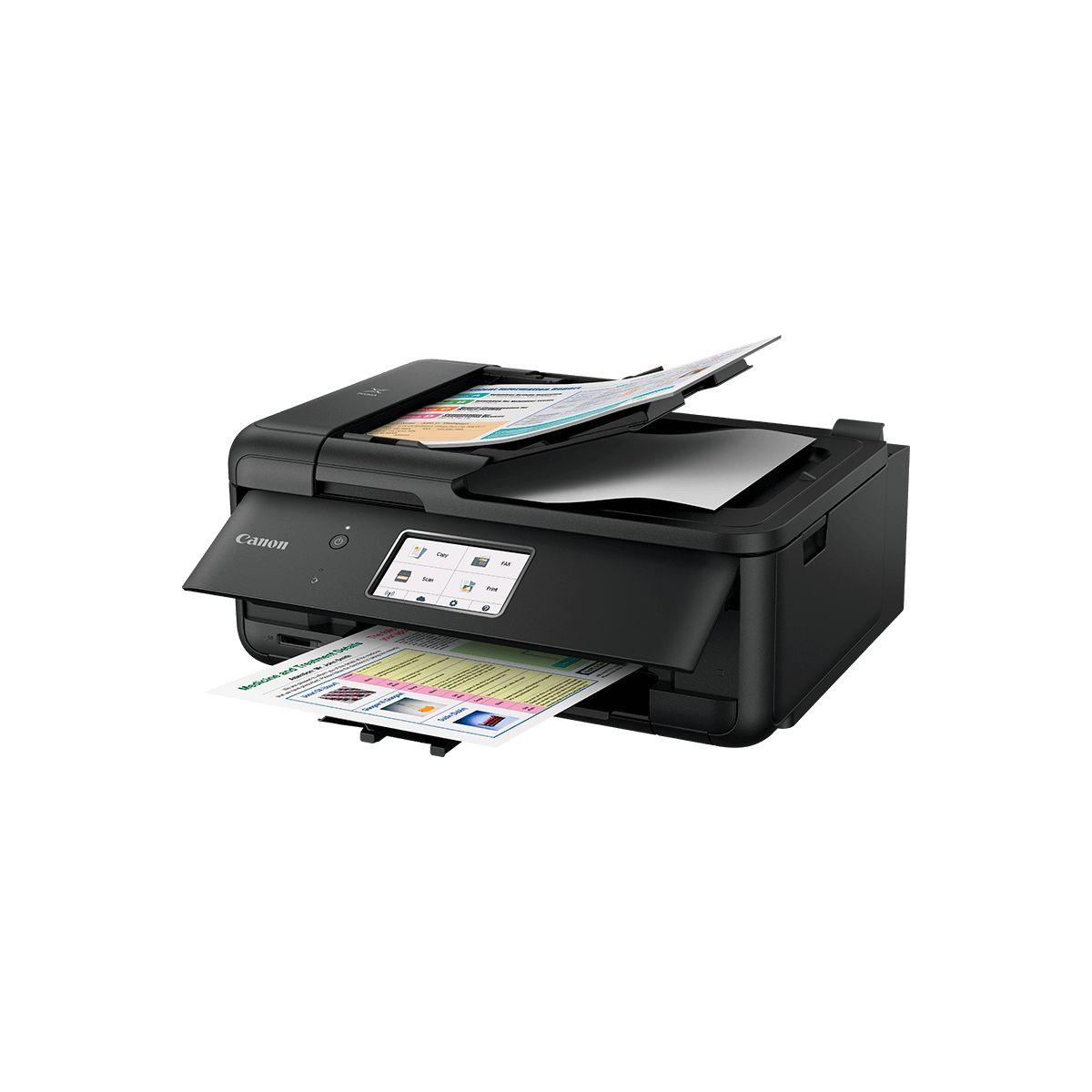 Imprimante jet d'encre CANON TR 8550 Noire (photo)