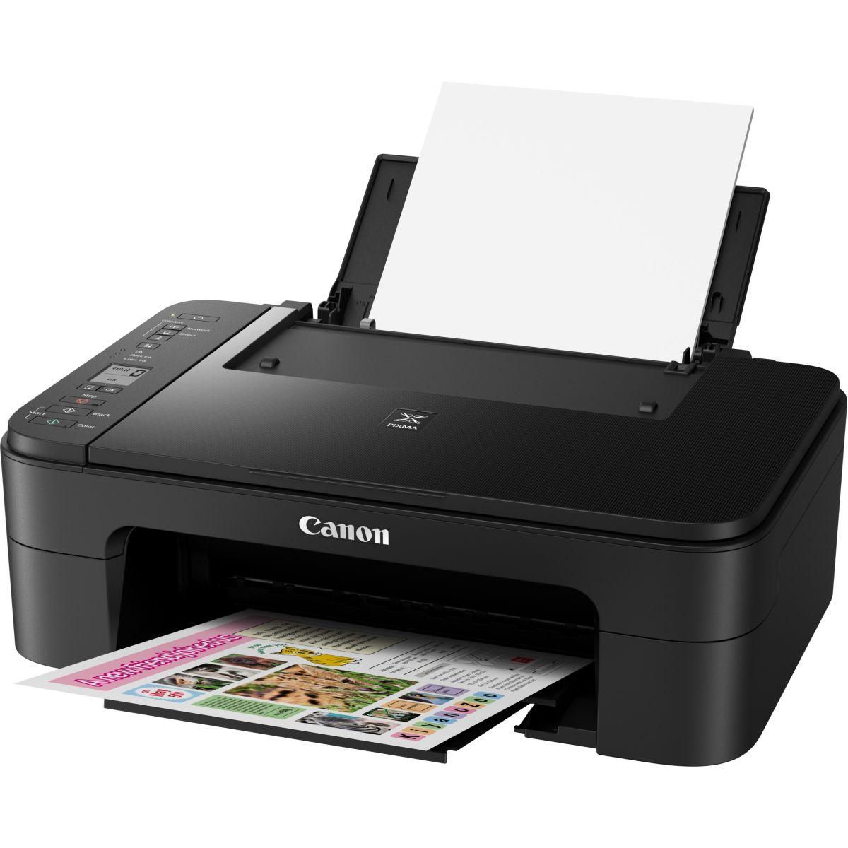 Imprimante jet d'encre CANON TS 3150 Noir (photo)