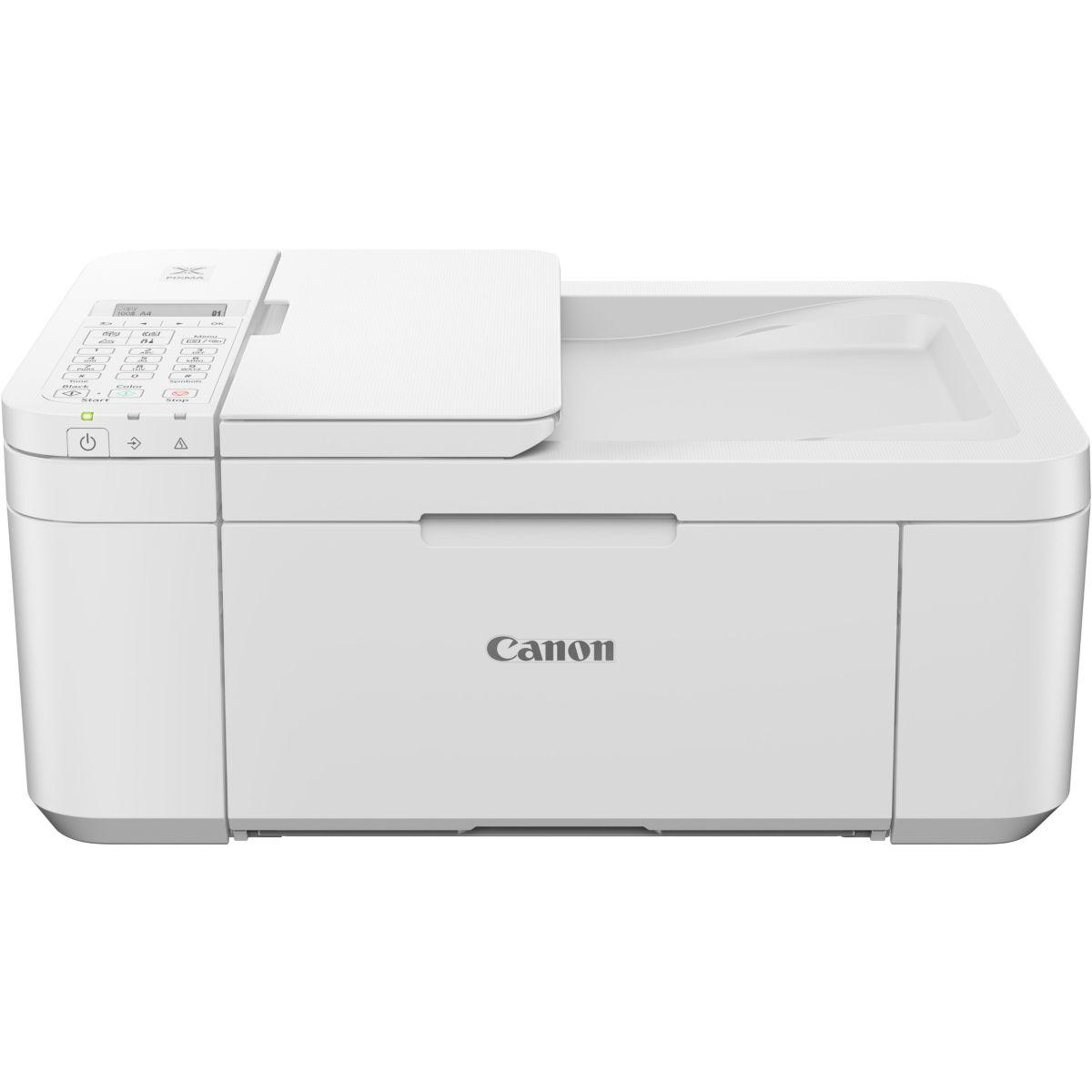 Imprimante jet d'encre CANON TR 4551 blanc (photo)