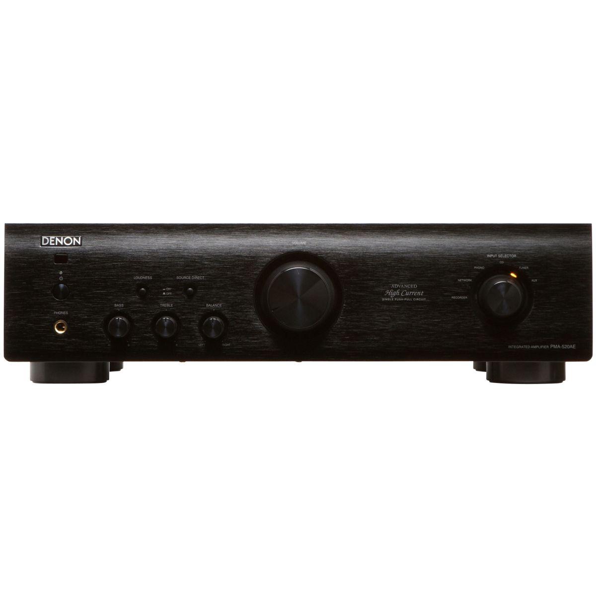 Amplificateur Hi-Fi DENON PMA520 NOIR