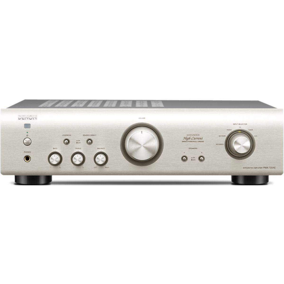 Amplificateur Hi-Fi DENON PMA720 SILVER