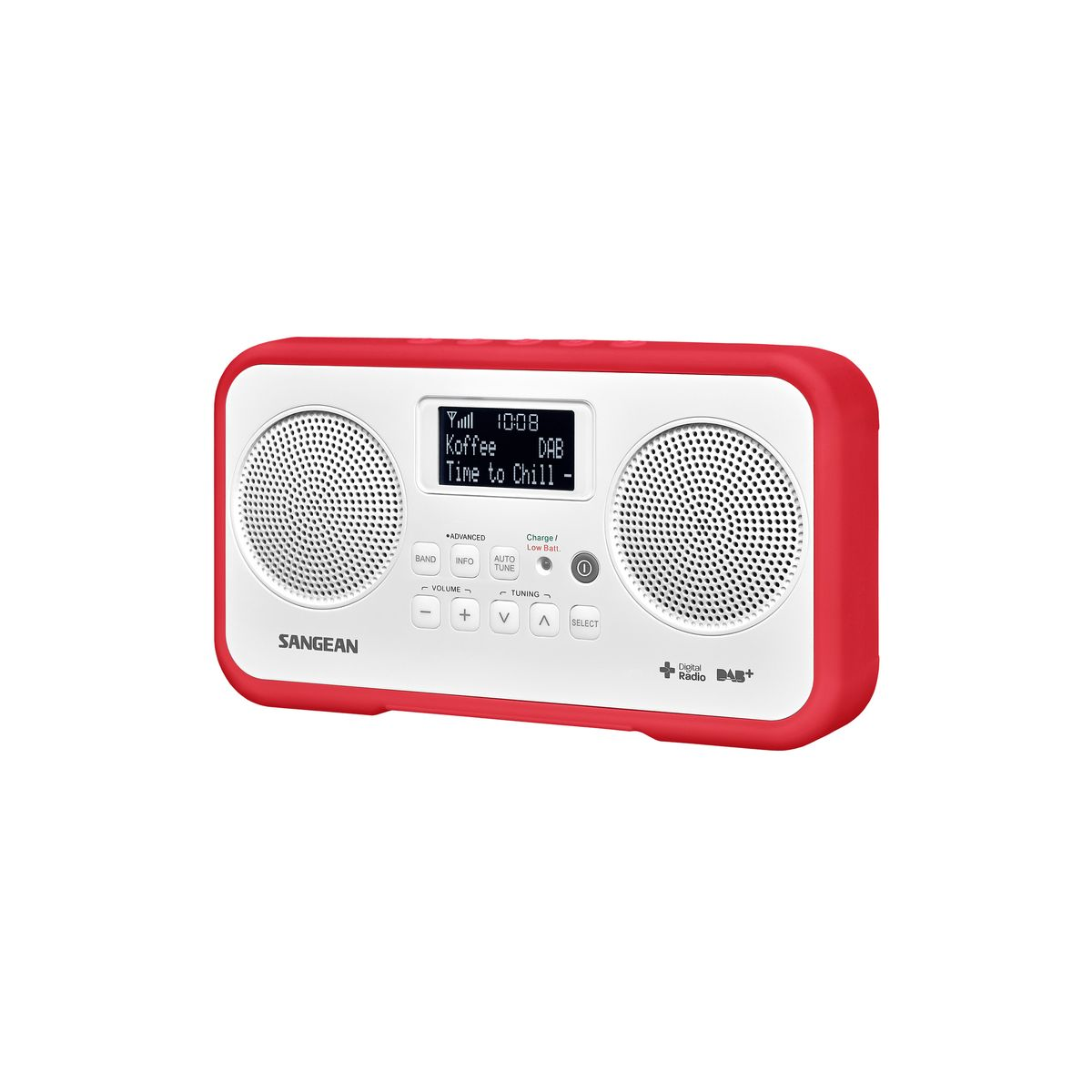 Radio numérique SANGEAN TRAVELLER 770 Rouge