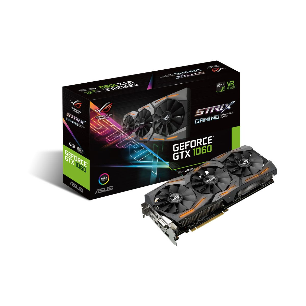 Carte Graphique ASUS GeForce GTX 1060 RO
