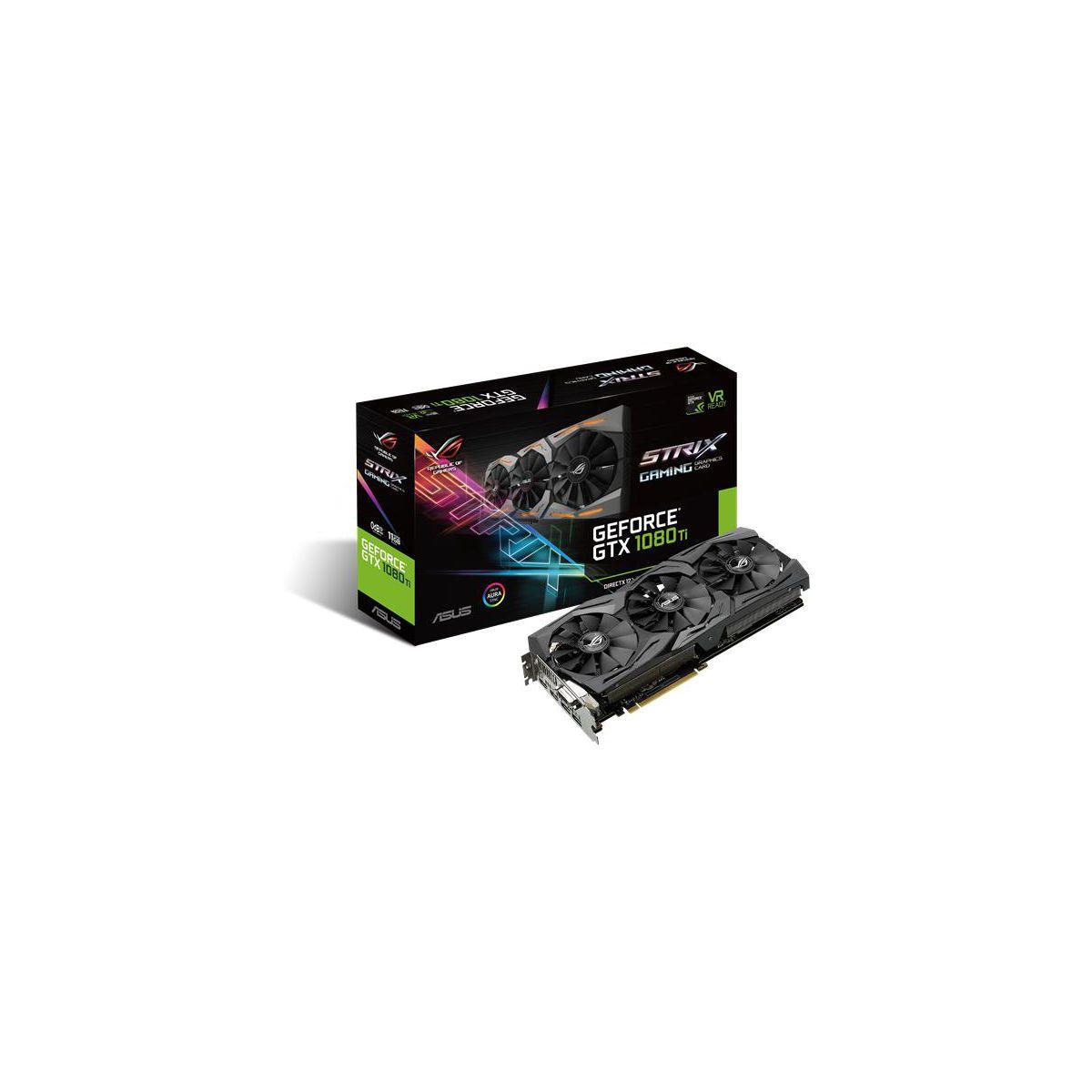 Carte Graphique ASUS GeForce GTX 1080 Ti