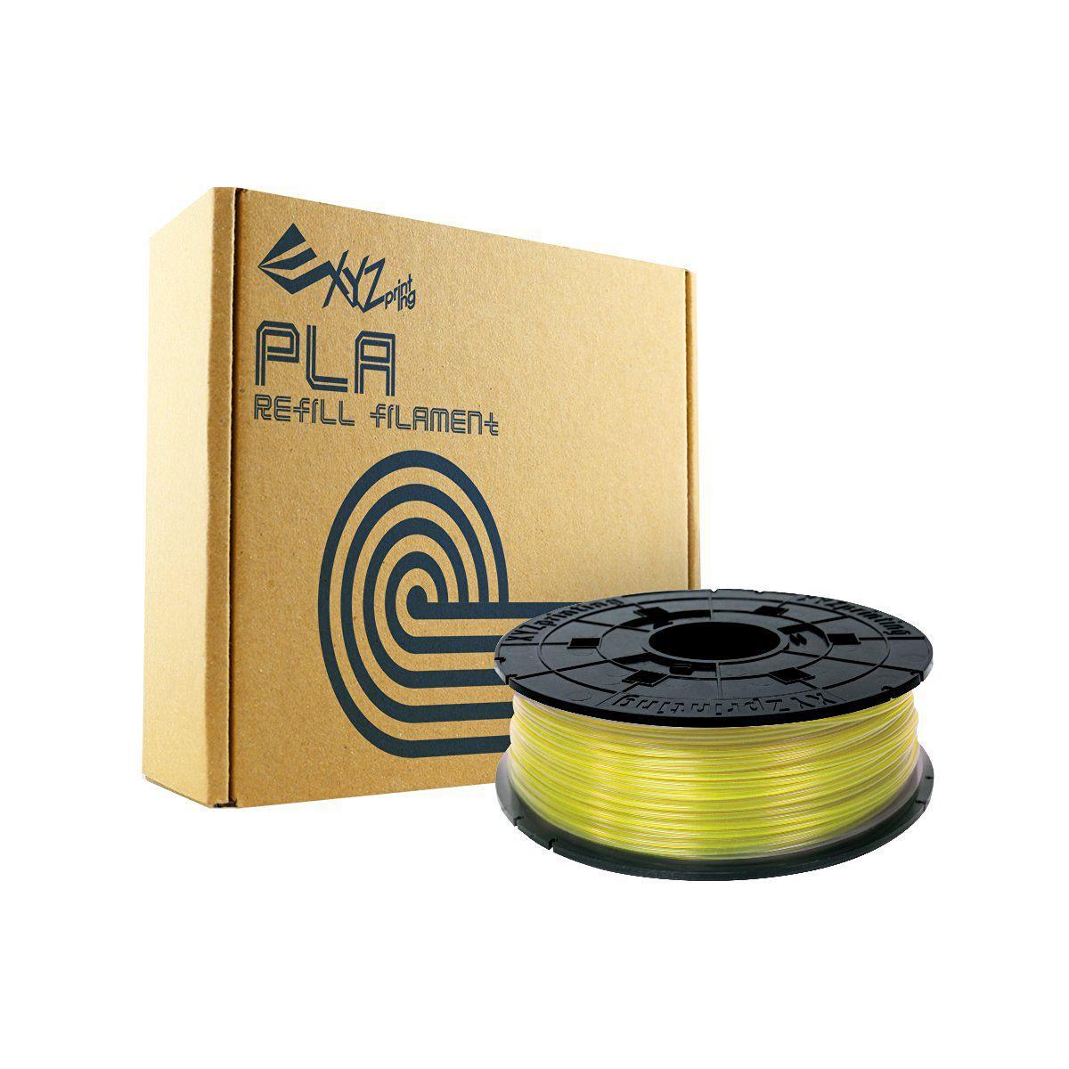 Filament 3D XYZ PRINTING Bobine recharge PLA Jaune clair