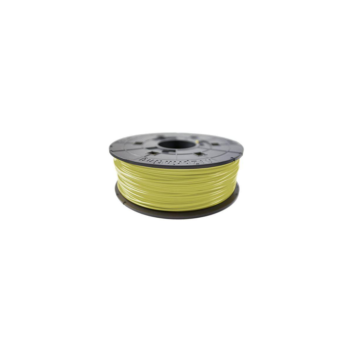 Filament 3D XYZ PRINTING Bobine recharge ABS Jaune clair