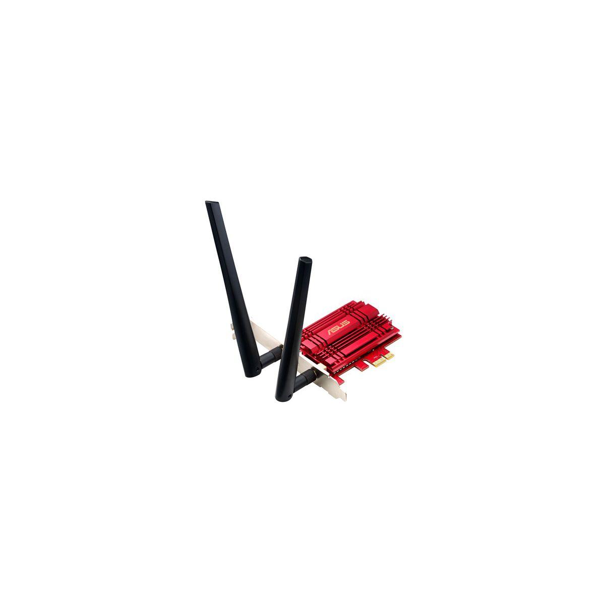 Adaptateur réseau ASUS PCIE AC56 WIFI Double bande AC1200 (photo)