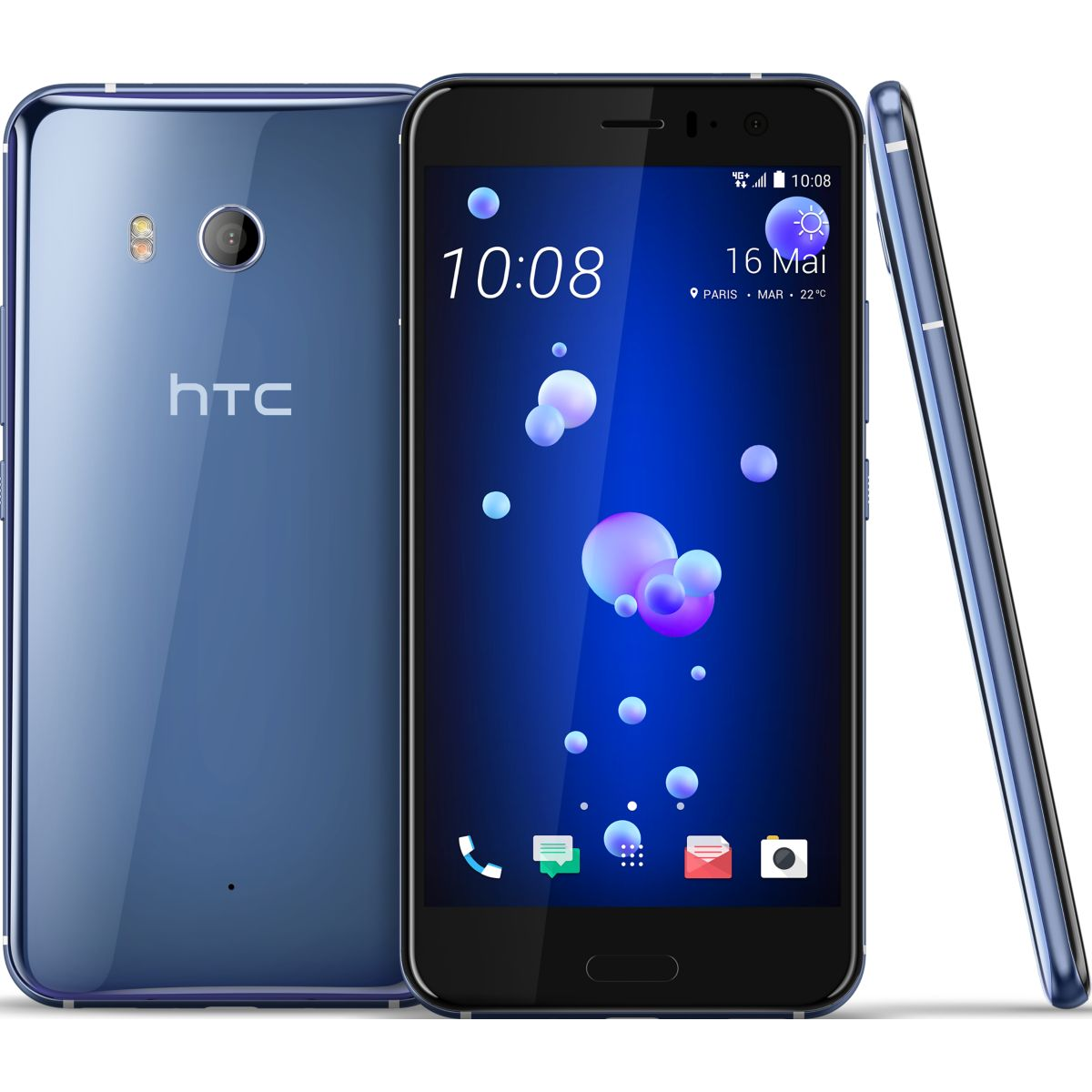 Smartphone HTC U11 Chrome 64 Go