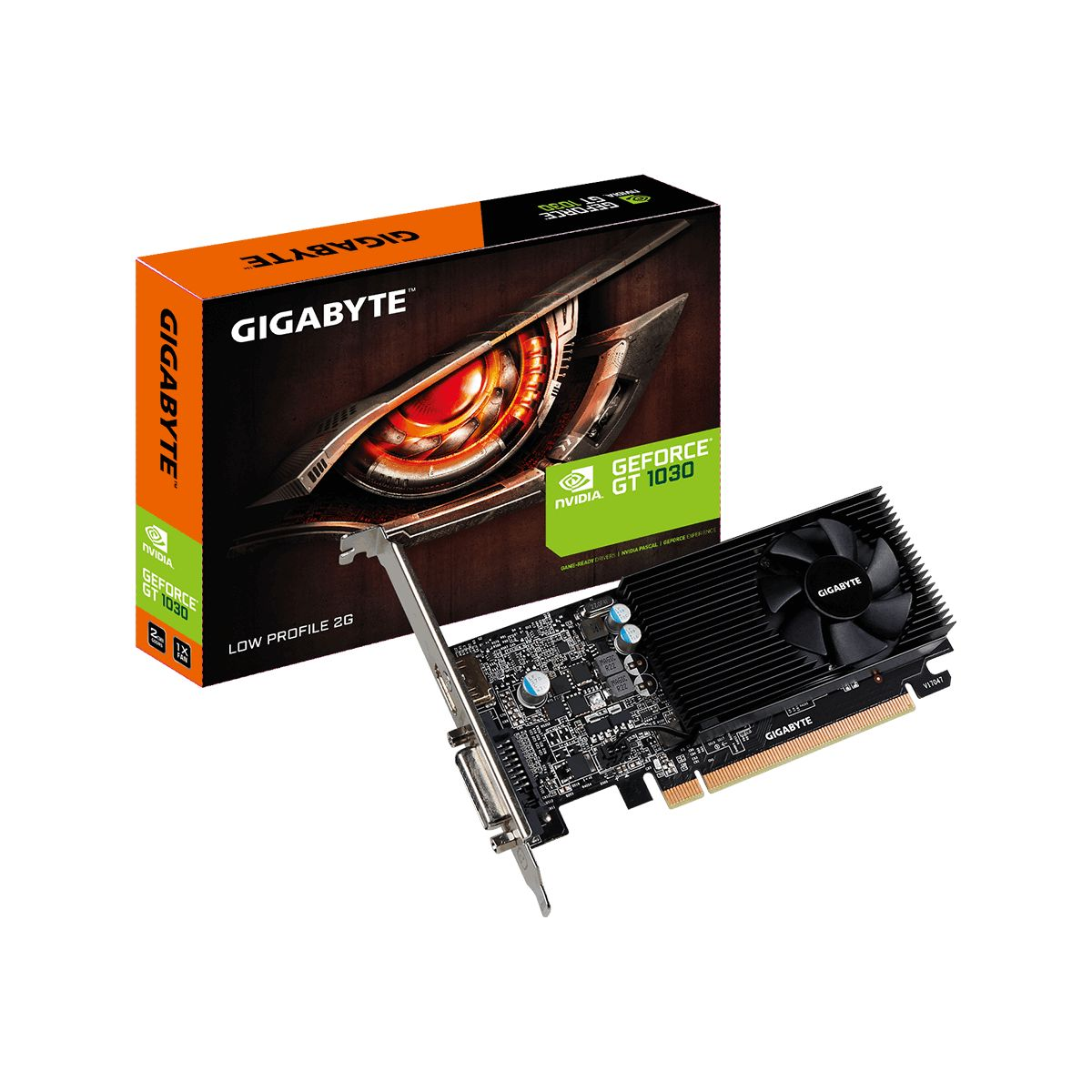 Carte graphique Nvidia GIGABYTE GeForce GT 1030 Low Profile 2G