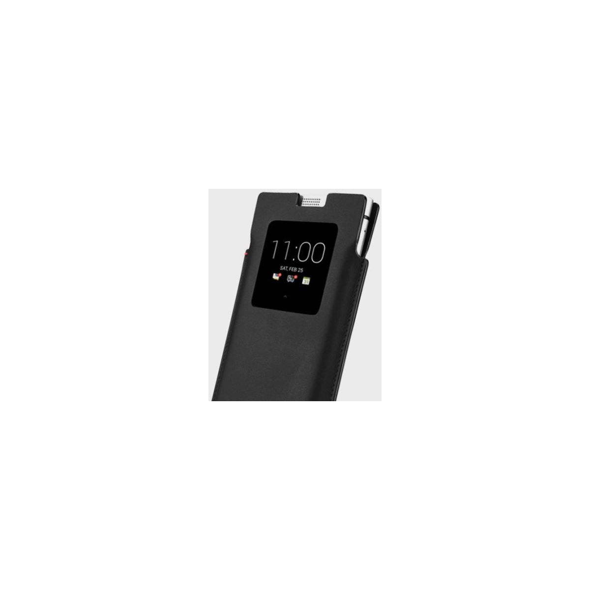 Etui BLACKBERRY Smart Pocket cuir noir