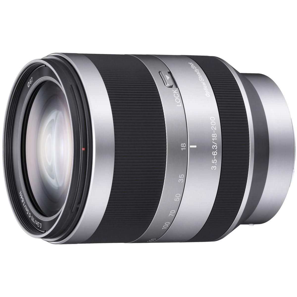 Objectif SONY 18-200mm f/3,5-6,3 ref SEL18200.AE pour NEX