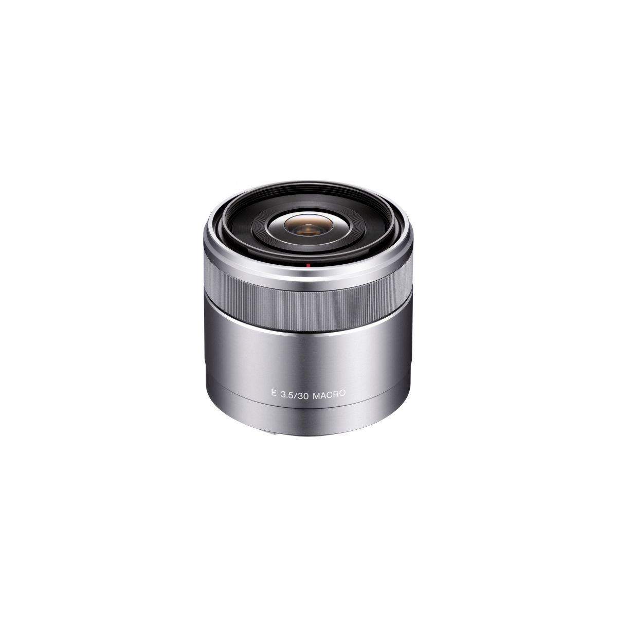 Objectif SONY SEL 30mm Macro f/3,5 (pour appareil Hybride SONY)