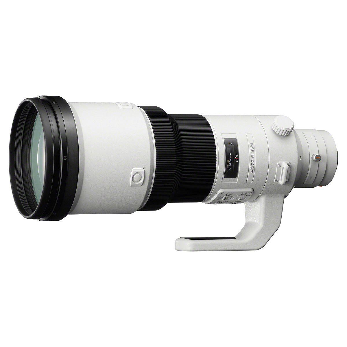Objectif pour Reflex SONY 500mm f/4 G SSM