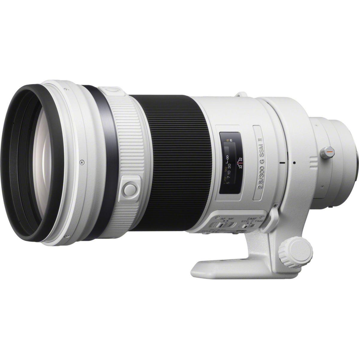 Objectif pour Reflex SONY 300mm f/2.8 G