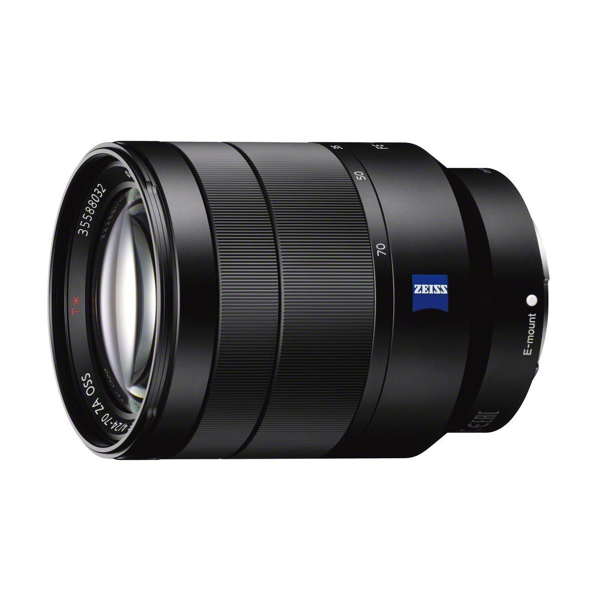 Objectif SONY FE 24-70mm f/4 OSS Zeiss