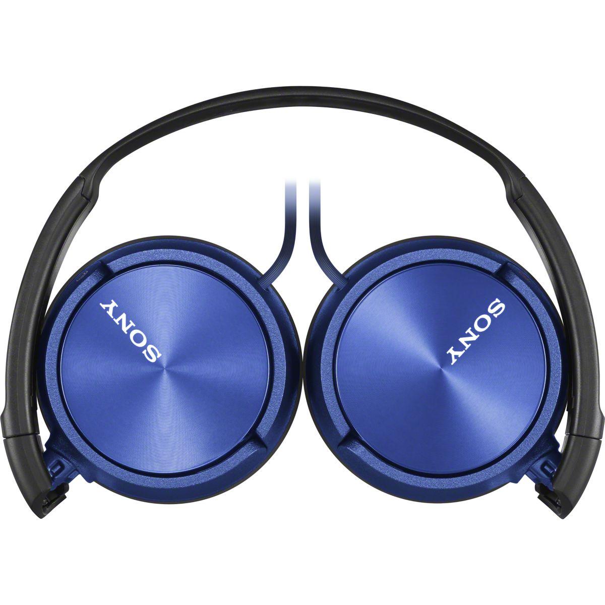 Casque Arceau SONY MDR-ZX310 bleu