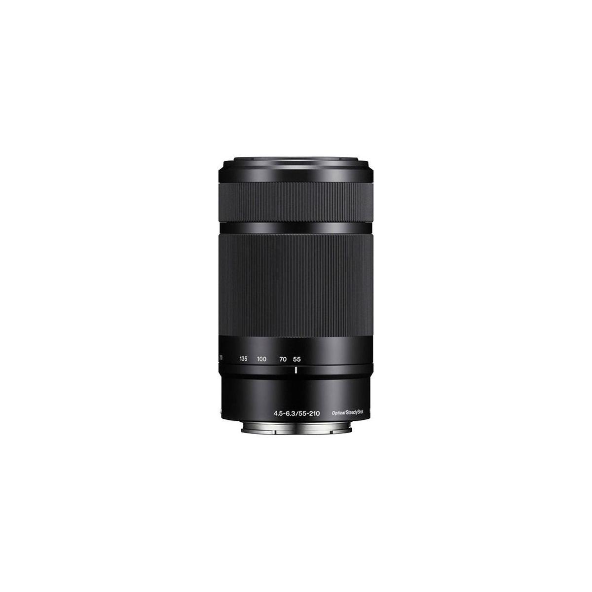 Objectif pour Reflex SONY SEL 55-210mm f4.5-6.3 OSS Noir