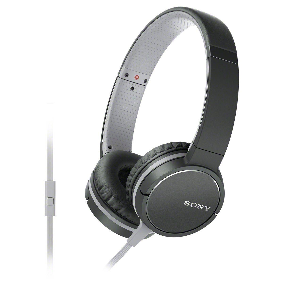 Casque audio SONY MDRZX660 noir