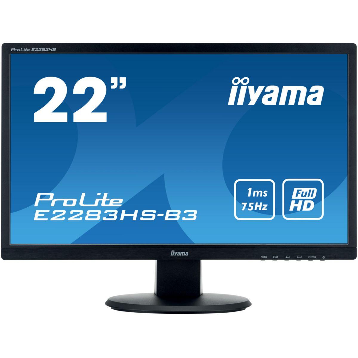 Ecran PC IIYAMA E2283HS-B3