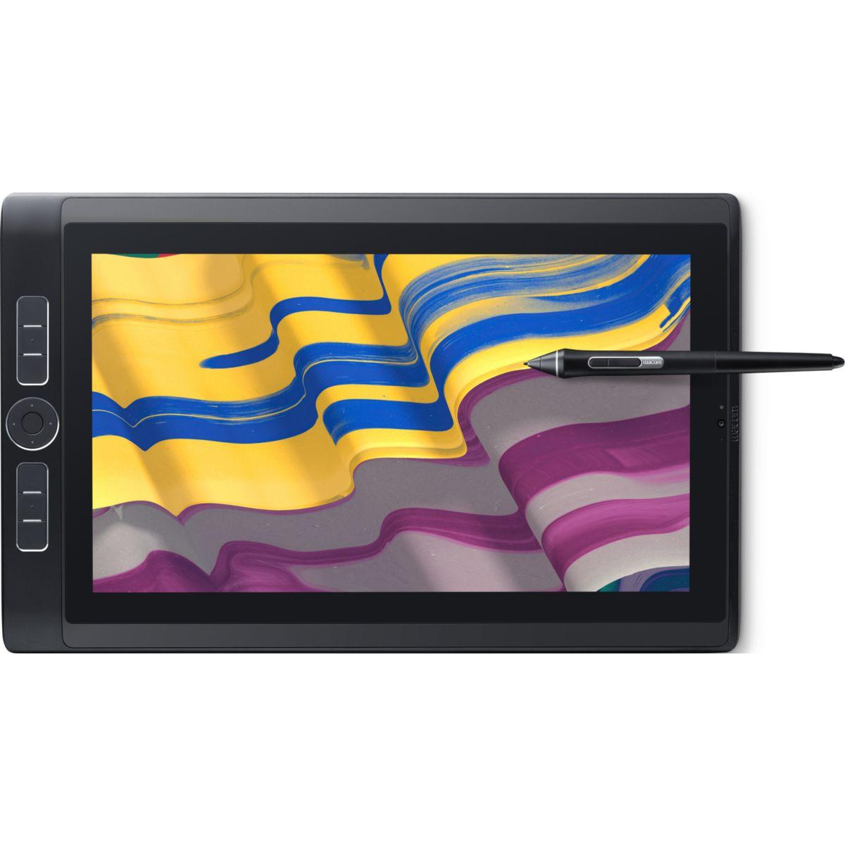 Tablette graphique WACOM MobileStudio Pro 13' - Noir cré...