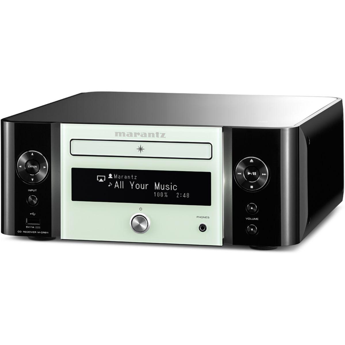Amplificateur HiFi MARANTZ MCR611 NOIR & BLANC
