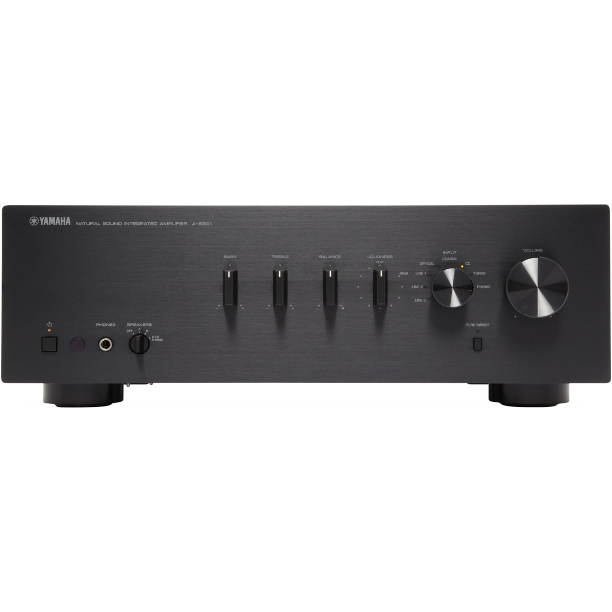 Amplificateur Hi-Fi YAMAHA AS301 NOIR