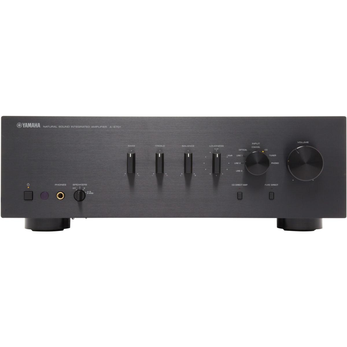 Amplificateur HiFi YAMAHA AS701 NOIR
