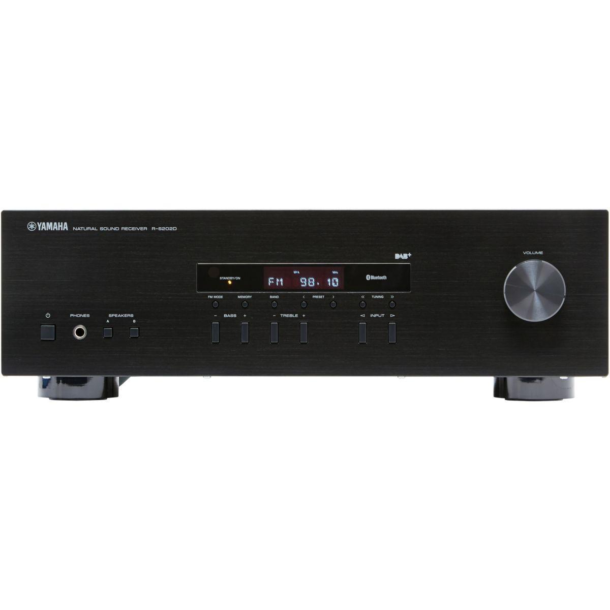 Amplificateur HiFi YAMAHA RS202D NOIR