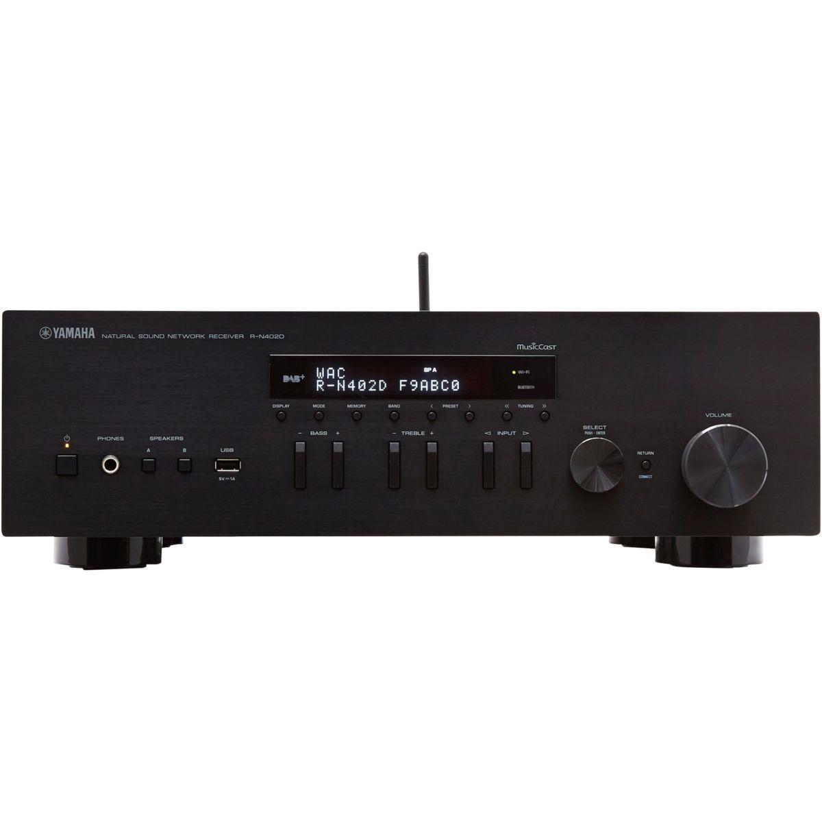Amplificateur HiFi YAMAHA MusicCast RN402 NOIR