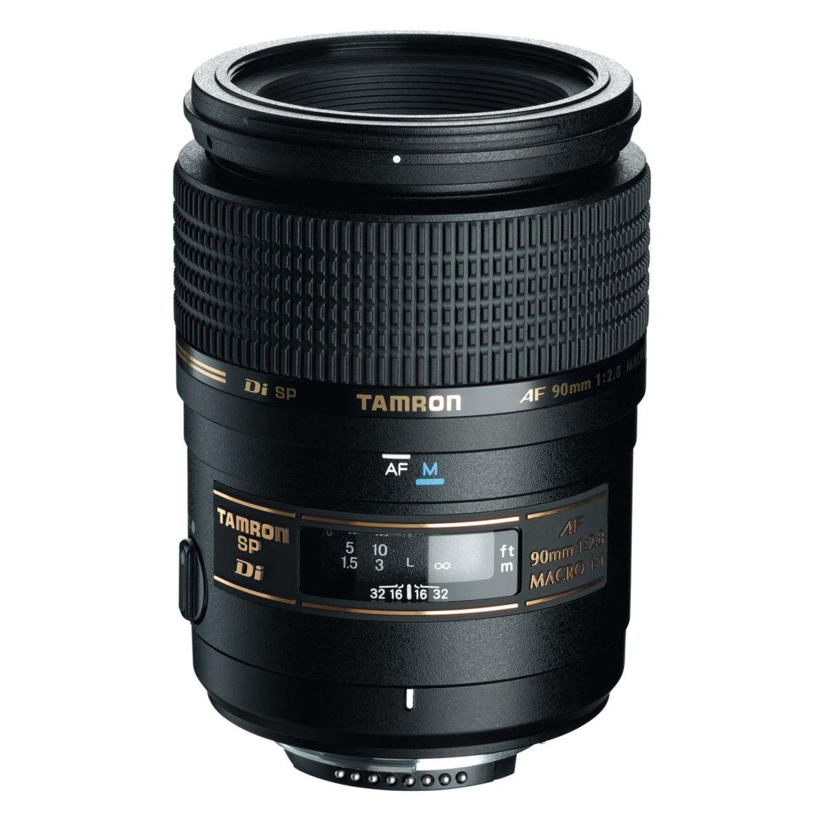 Objectif TAMRON 90MM f/2.8 MACRO DI 1:1 Canon