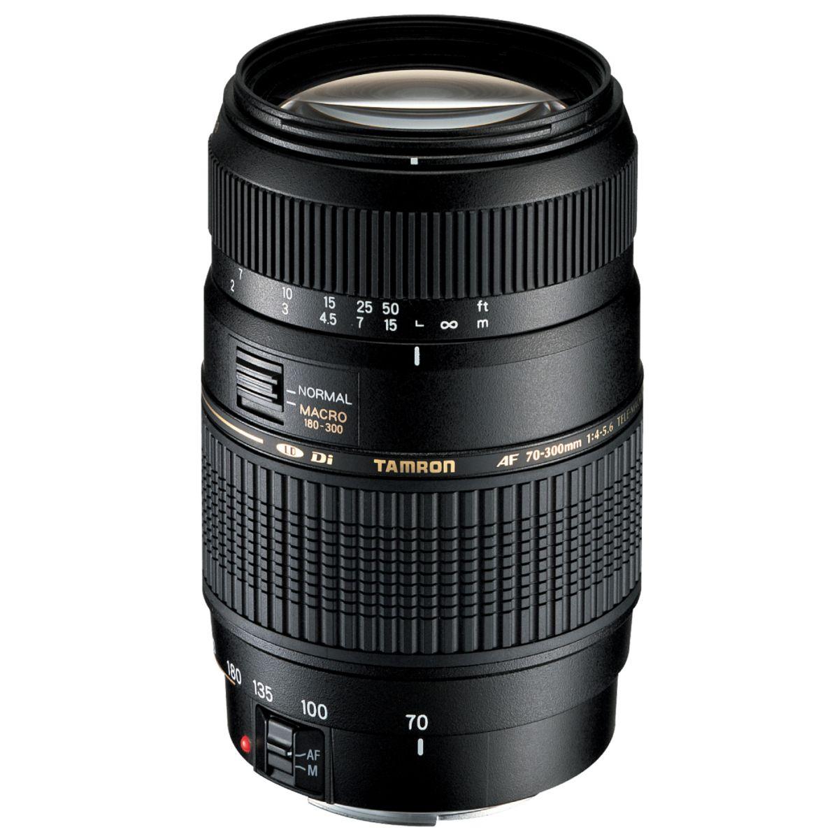 Objectif TAMRON AF 70-300mm f/4-5,6 Di LD IF 1:2 Nikon