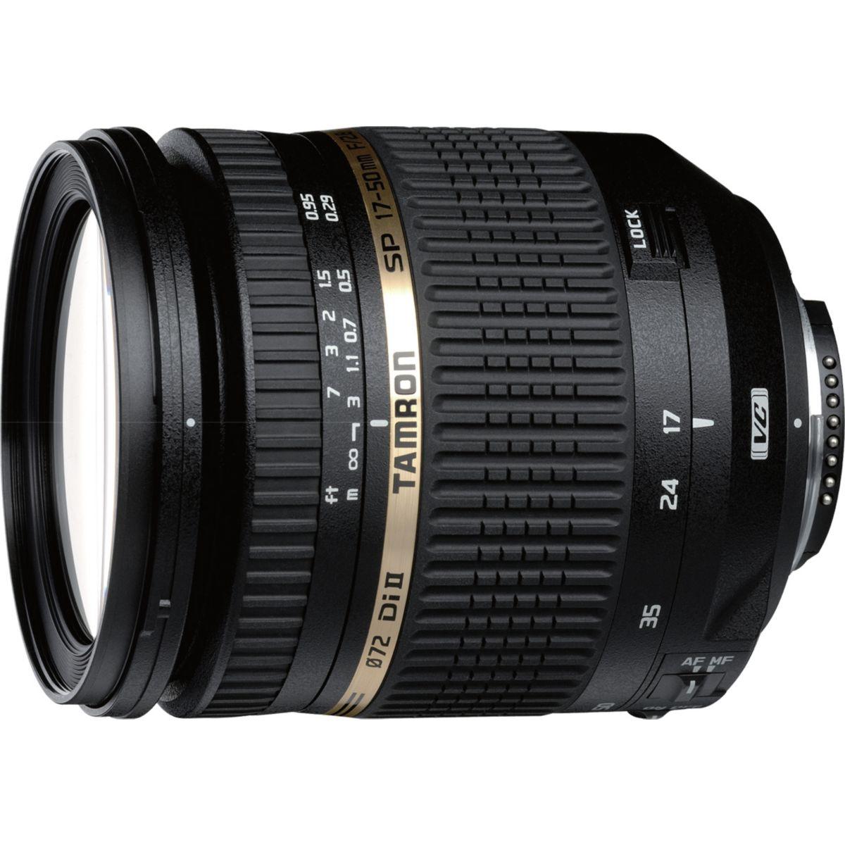 Objectif TAMRON 17-50 F2.8 XR Di II VC Nikon (pour reflex NIKON)