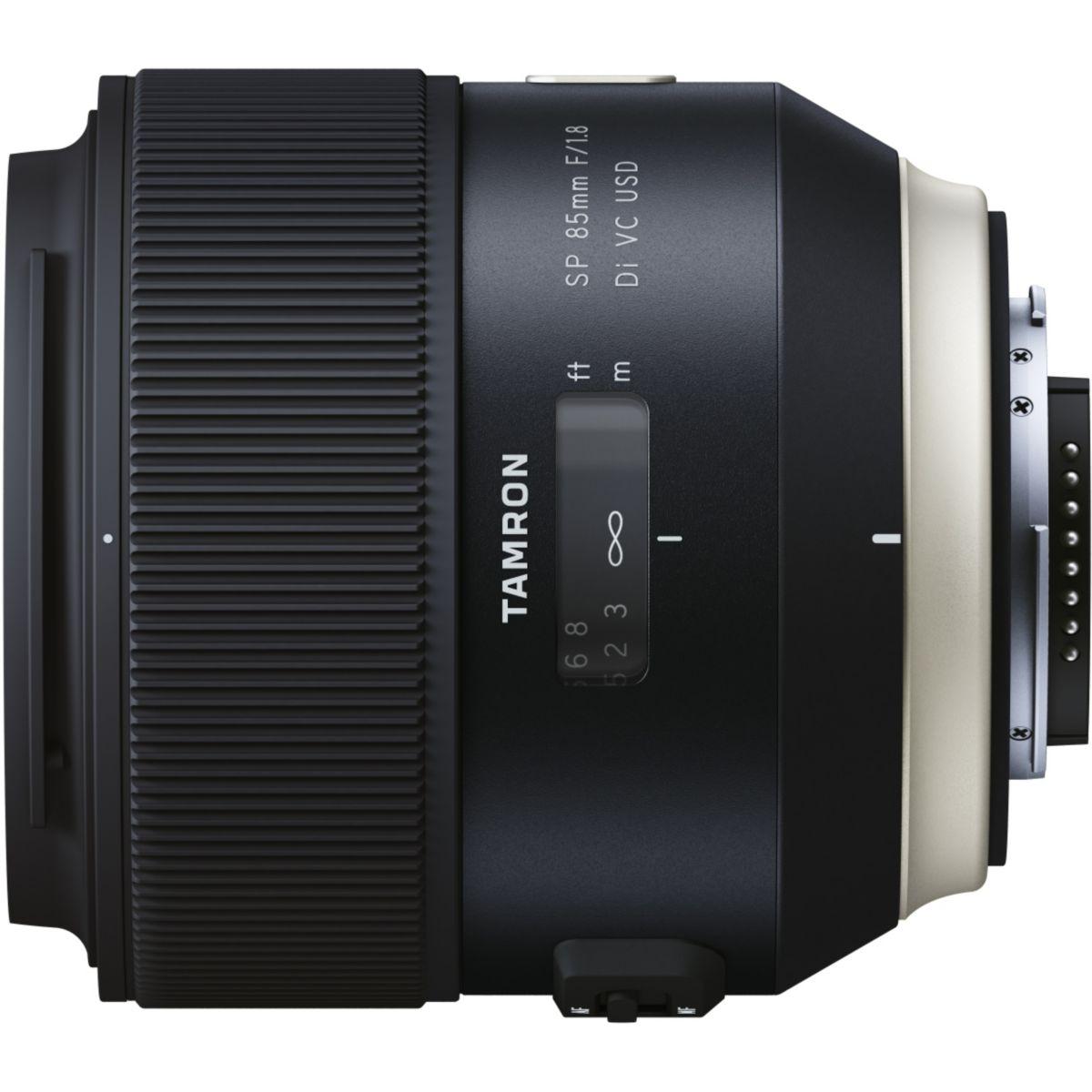 Objectif pour Reflex TAMRON SP 85mm F/1,8 Di VC USD Nikon
