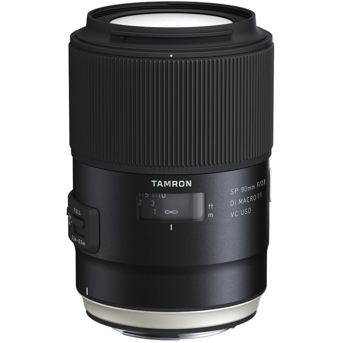 Objectif pour Reflex TAMRON SP 90mm F2.8 Di Macro VC USD Canon