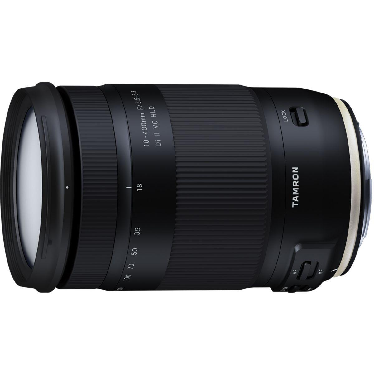 Objectif pour Reflex TAMRON 18-400mm F/3,5-6,3 Di II VC HLD Nikon
